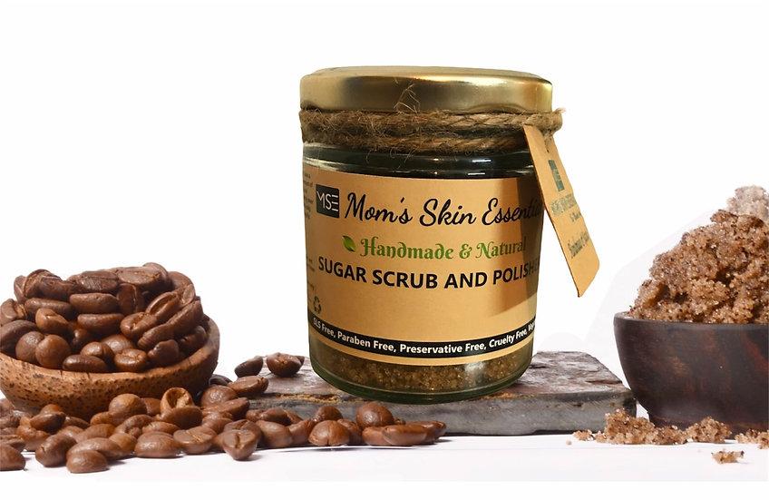 Coffee Vanilla Sugar Body Polisher With Vitamin E