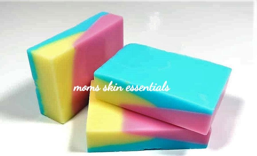 Shea Lemon Rose Patchouli Soap