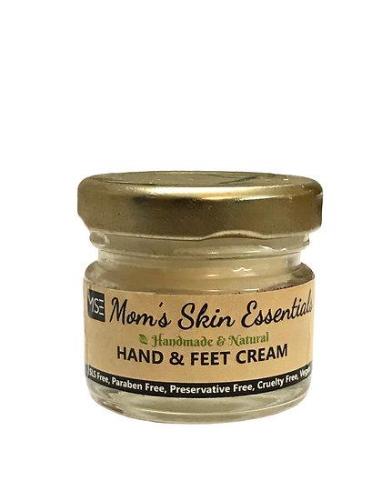 Hand and Feet Cream with Shea, Jojoba and Lavender