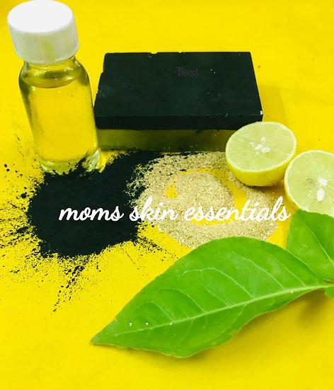 Activated Charcoal Lemon Soap