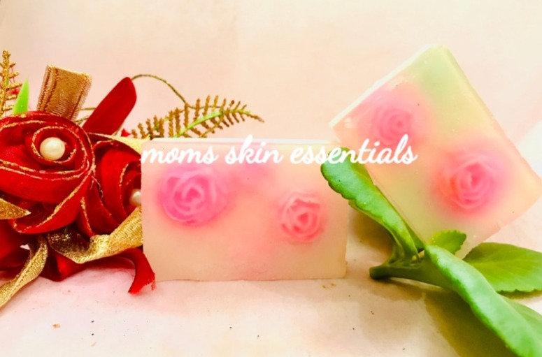 Shea Rose Cardamom Soap