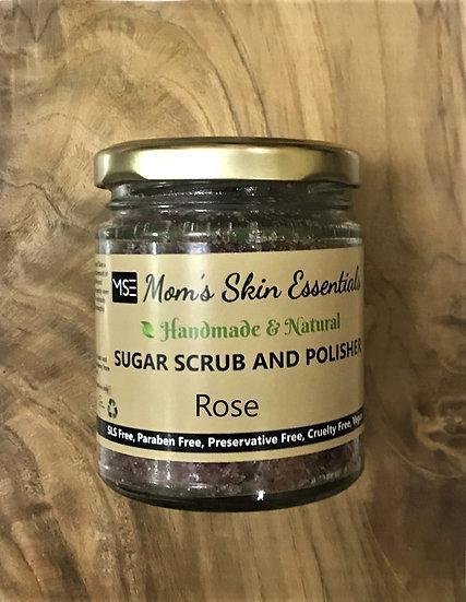 Rose Sugar Face & Body Scrub