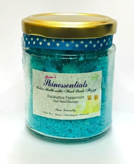Eucalyptus and Peppermint Bath Salt and Foot Soak