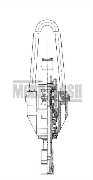 МБУ125.40.00.000-01 – Вертлюг ВБ125 черт