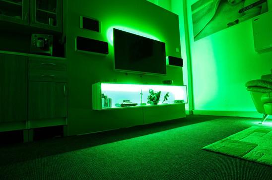 Smarthome Showroom - RGBW Osvetlenie