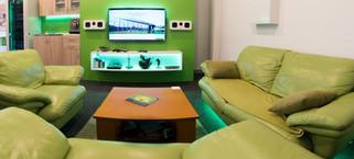 Showroom - Obývacia časť