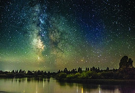 MilkyWay over Deschutes at Sunriver