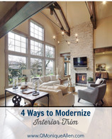 4 Ways to Modernize Interior Trim