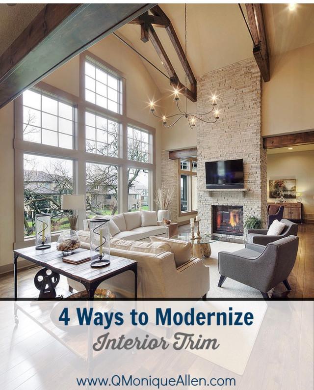 4 Ways to ModernizeInterior Trim