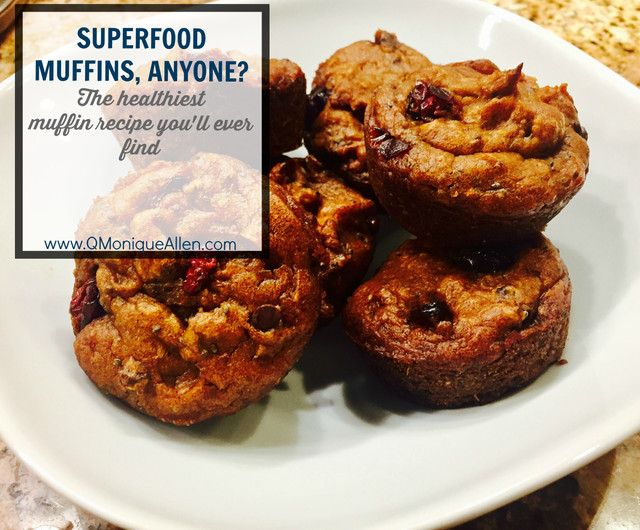 Superfood Muffins, anyone?