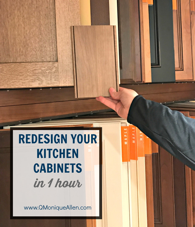Redesign Your Kitchen Cabinets in 1 Hour