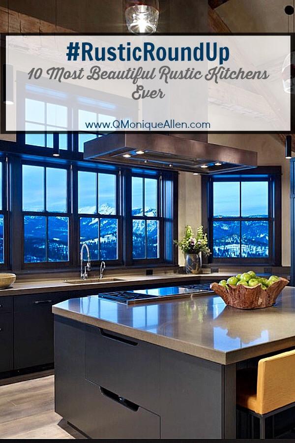 #RusticRoundUp #1 -Kitchens