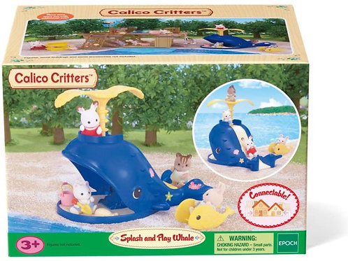 Calico Critters - Splash & Play Whale