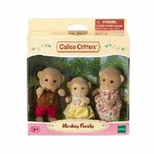 Calico Critters - Mango Monkey Family