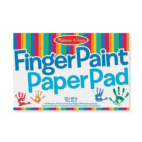 """Finger Paint Paper Pad (12""""x18"""")"""