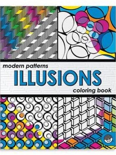Illusions Colouring Book