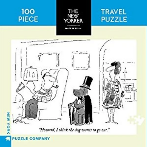 100pc Travel Puzzle: The New Yorker