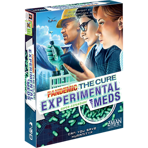 Pandemic: The Cure Expansion - Experimental Meds