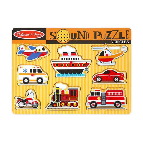 Sound Puzzle: Vehicles
