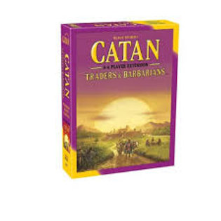 Catan Extension: 5-6 Player - Traders & Barbarians