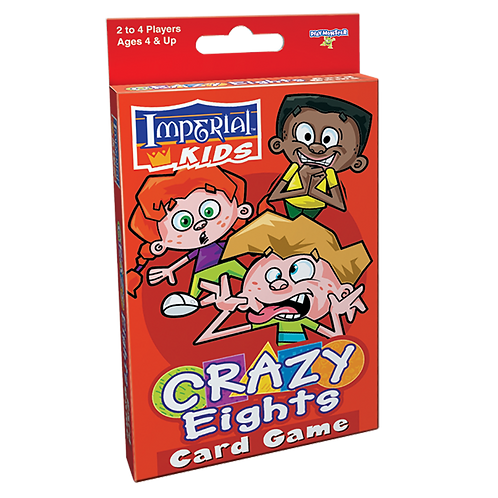 Imperial Kids Crazy Eights Card Game
