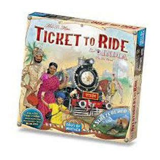 Ticket To Ride: Map Collection 2 - India/Switzerland