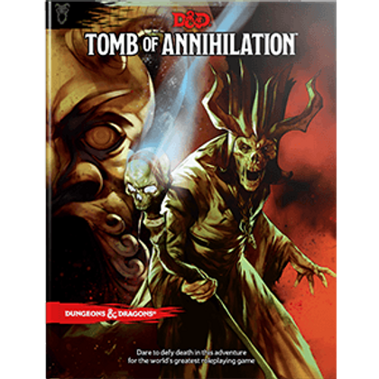 D&D - Tomb of Annihilation Campaign Book