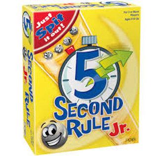 5-Second Rule JR.