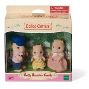 Calico Critters - Fluffy Hamster Family