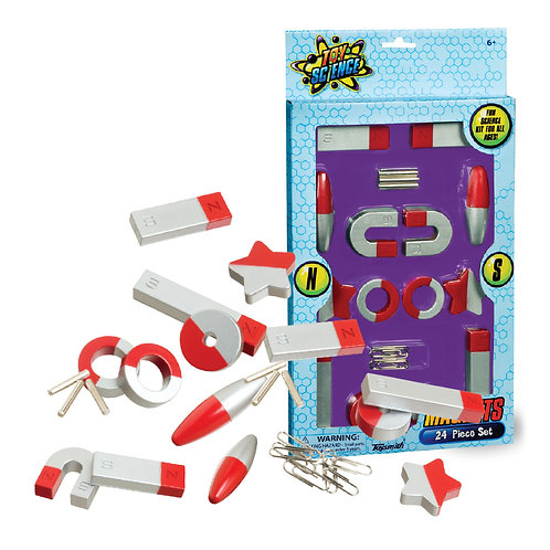 Toy Science: Magnets 24pc