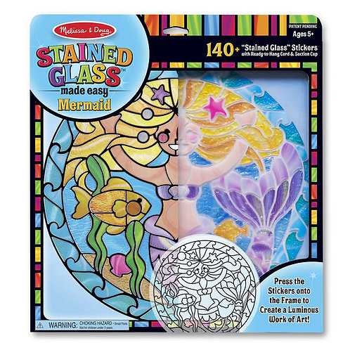 Stained Glass Made Easy - Mermaid