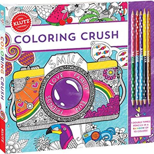Klutz - Colouring Crush