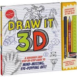 Klutz - Draw It 3D