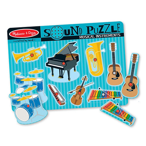 Sound Puzzle: Musical Instruments