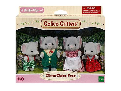 Calico Critters - Ellwoods Elephant Family