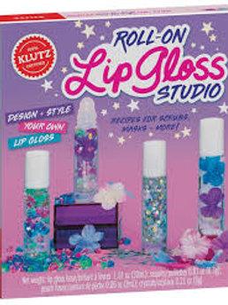Klutz - Roll-on Lip Gloss Studio