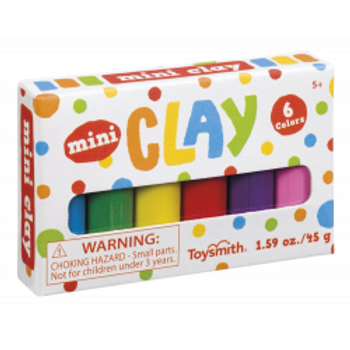 Mini Clay 6 colours