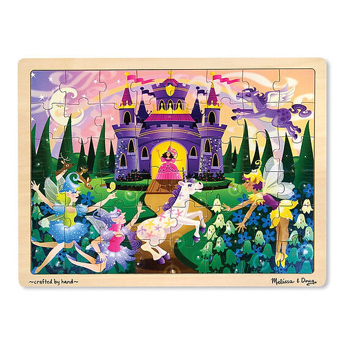 Wooden Jigsaw Puzzle: Fairy Fantasy 48pc