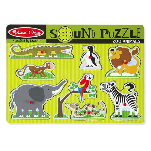 Sound Puzzle: Zoo Animals