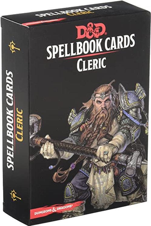 D&D - Cleric Spellbook Cards