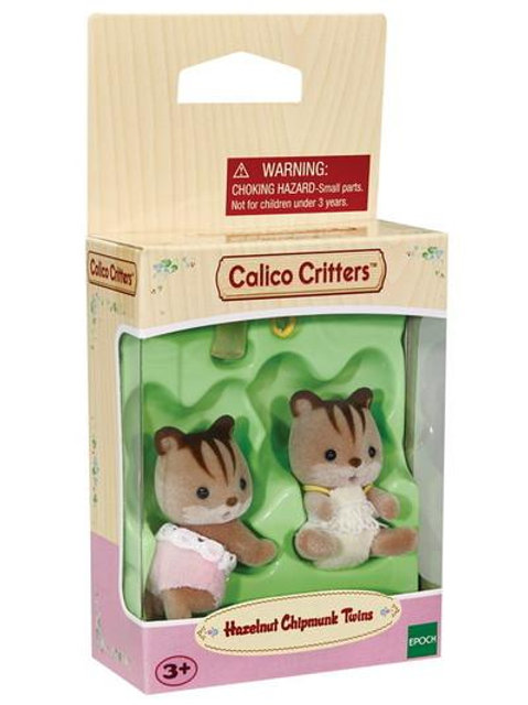 Calico Critters - Hazelnut Chipmunk Twins