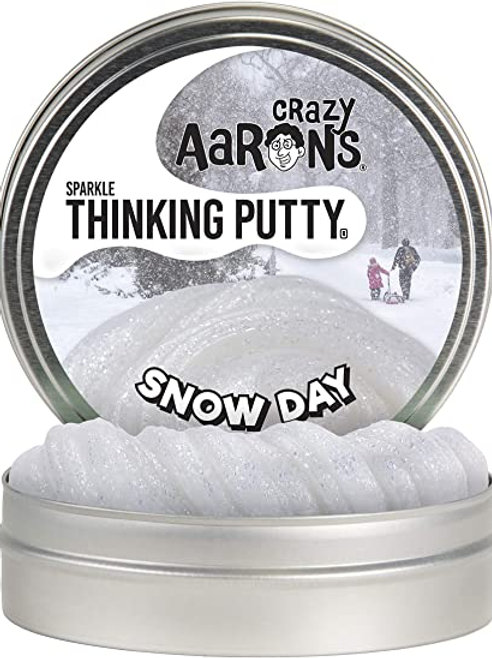 Crazy Aaron's Thinking Putty - Sparkle - Snow Day DA020