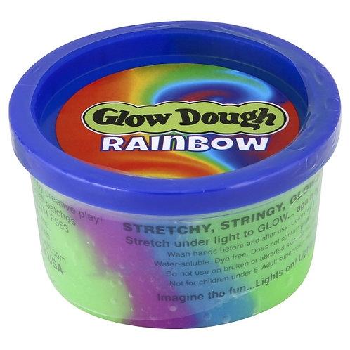 Glow Dough Rainbow