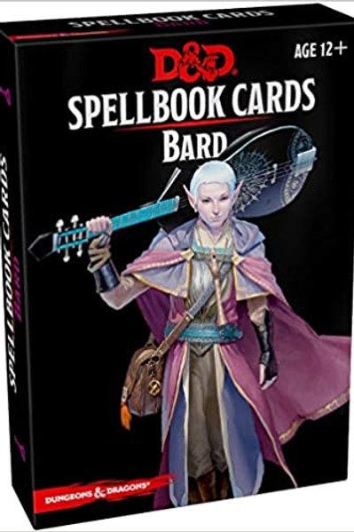 D&D - Bard Spellbook Cards