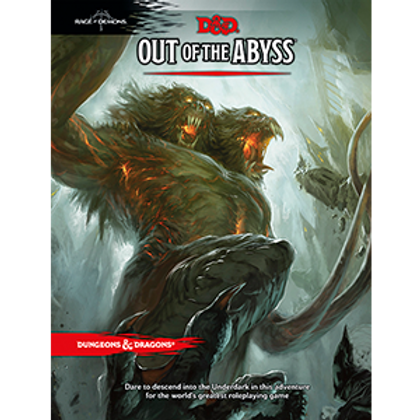 D&D - Out of the Abyss Campaign Book
