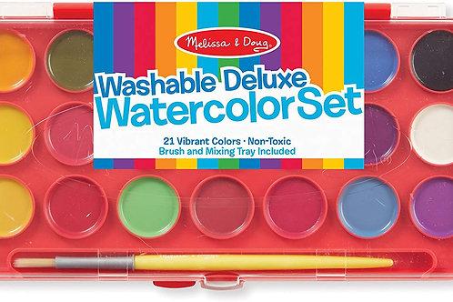 Washable Deluxe Watercolour Set