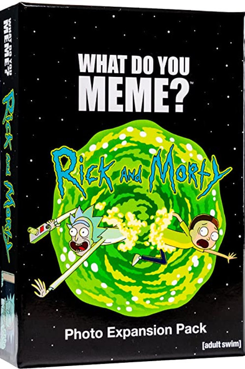 What Do You Meme?: Rick & Morty Expansion