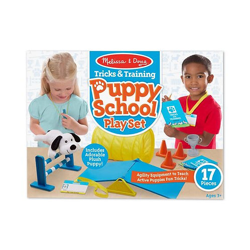 Tricks & Training Puppy School Playset