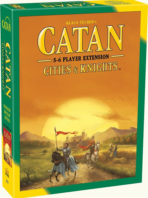 Catan Extension: 5-6 Player - Cities & Knights