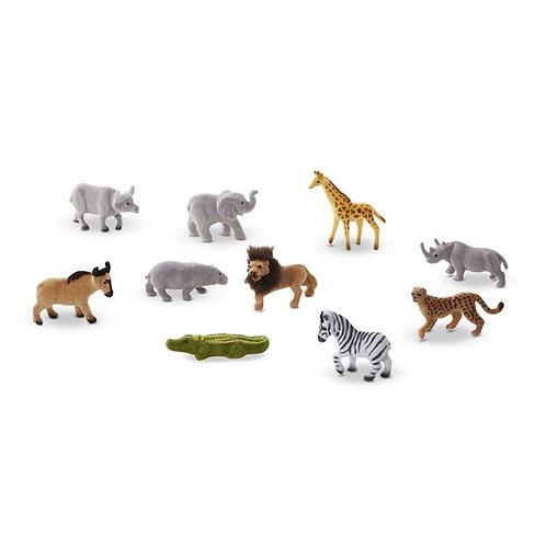 Safari Sidekicks - 10 Collectible Wild Animals
